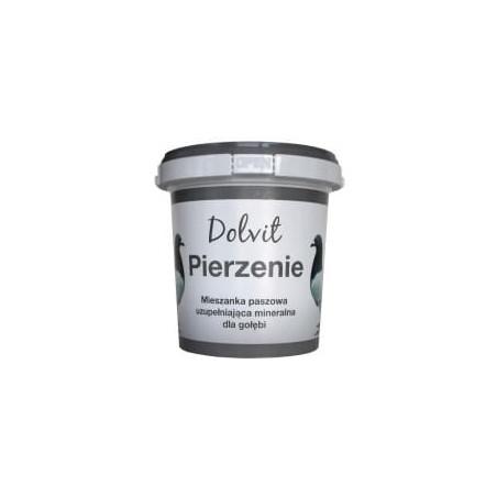 DOLFOS Dolvit Pierzenie - mieszanka paszowa 1 kg (wiaderko)