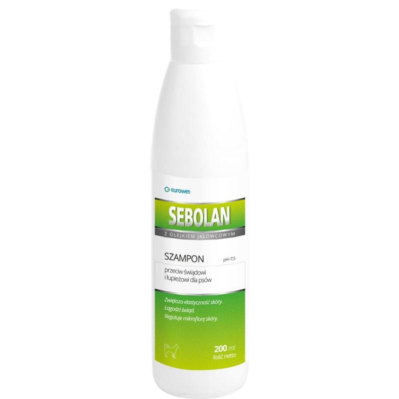 EUROWET Sebolan szampon przeciw łupieżowi 200 ml