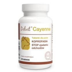 DOLFOS Dolvit Cayenne przeciw zjadaniu odchodów 90