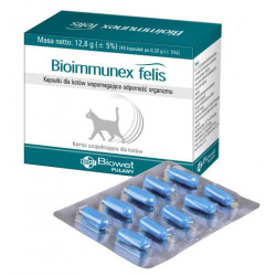 BIOWET Bioimmunex Felis 40 kapsułek