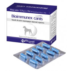BIOWET Bioimmunex Canis 40 kapsułek