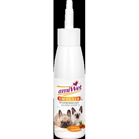 AMIWET Emulsja do czyszczenia uszu 100 ml