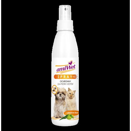 AMIWET spray ochronny na pchły i kleszcze 200 ml