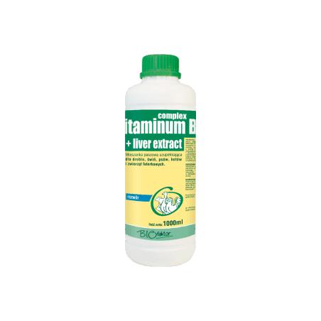 BIOFAKTOR Vitaminum B Complex + liver extract 1L