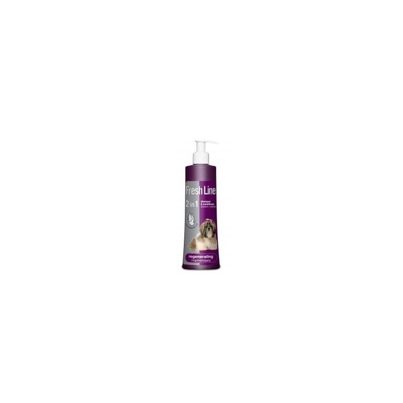 Fresh Line szampon z odżywką regenerujący 220ml