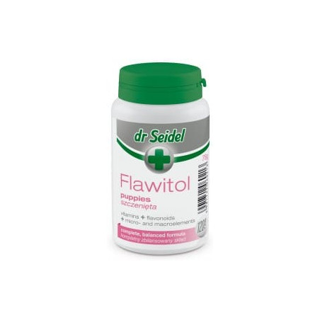 DR SEIDEL Flawitol dla szczeniąt 120 tabletek