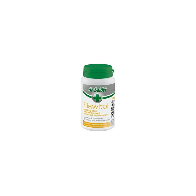 DR SEIDEL Flawitol na skórę i sierść 60 tabletek