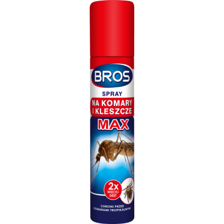 BROS spray na komary i kleszcze MAX 90 ml