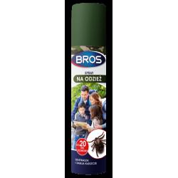 BROS spray na odzież - odstrasza i zabija kleszcze 90 ml