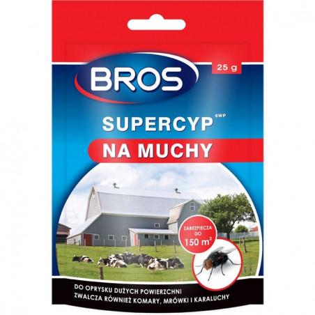 BROS Supercyp 6WP - preparat na muchy 25 g