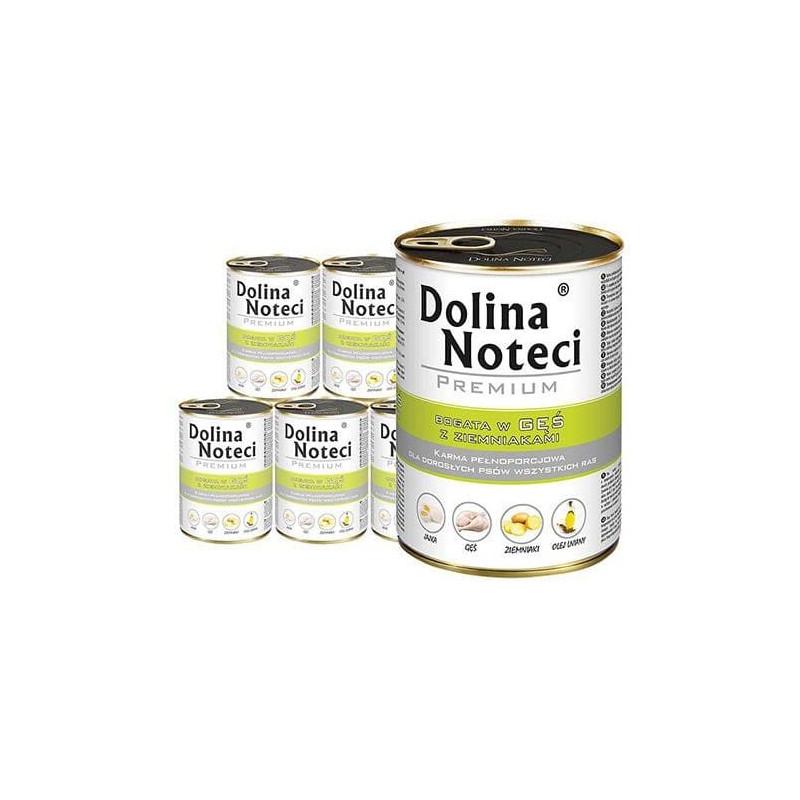 24x DOLINA NOTECI PREMIUM GĘŚ karma dla psa 400g