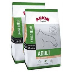 ARION ADULT LARGE SALMON&RICE 2X12 KG+GRATISY