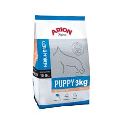 ARION ORIGINAL PUPPY MEDIUM SALMON&RICE 3 KG