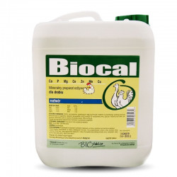 BIOFAKTOR Biocal - dla drobiu 5 L