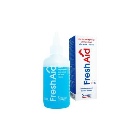 Fresh Aid 112ml żel-do pielęgnacji jamy ustnej psów kotów