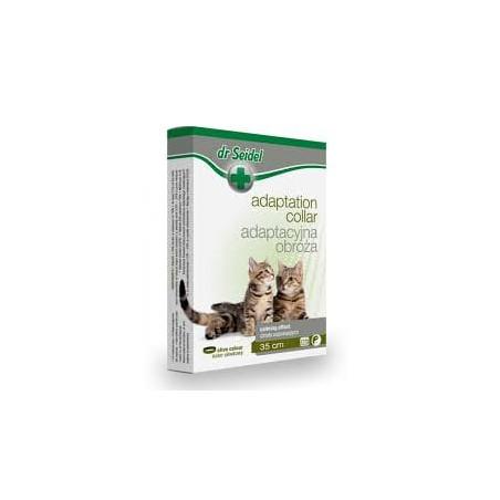 DR SEIDEL Obroża adaptacyjna uspokajająca dla kota + GRATIS