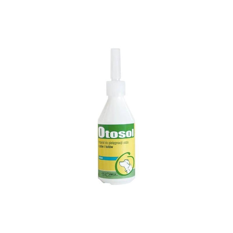 BIOFAKTOR Otosol - płyn do czyszczenia uszu 100 ml