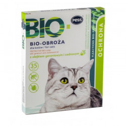 PESS BIO Obroża z olejkami dla kota 35cm