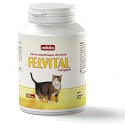 MIKITA FELVITAL + LECYTYNA witaminy dla kota 100 tabl