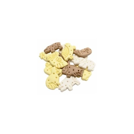 AdBi Ciastka ZOO waniliowe dla psa 1kg