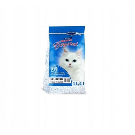 SUPER BENEK CRYSTAL STANDARD 11,4L żwirek dla kota