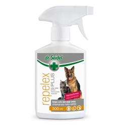 Repelex Plus -  Płyn odstrasza psy i koty 300 ml