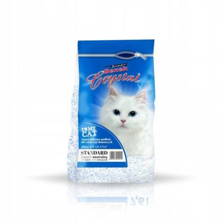 SUPER BENEK CRYSTAL STANDARD 7,6L żwirek dla kota