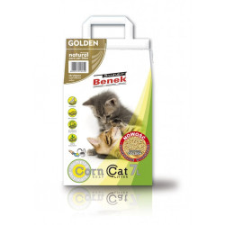 SUPER BENEK CORN CAT GOLDEN 7L żwirek dla kota