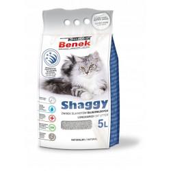 SUPER BENEK SHAGGY 5L żwirek dla kota