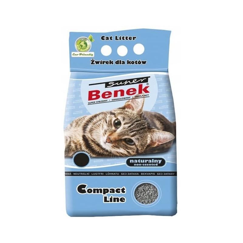 SUPER BENEK COMPACT 5L żwirek dla kota
