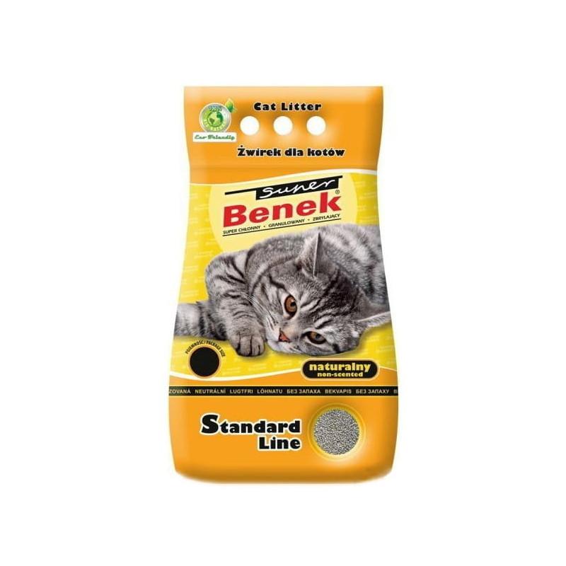 SUPER BENEK NATURALNY 5L żwirek dla kota