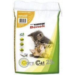 Żwirek Super Benek Corn Cat 25L Zbrylający