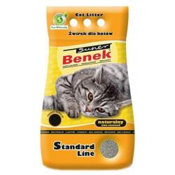 SUPER BENEK NATURALNY 25L żwirek dla kota