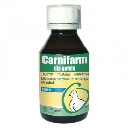BIOFAKTOR Carnifarm karnityna dla gołębi 100 ml